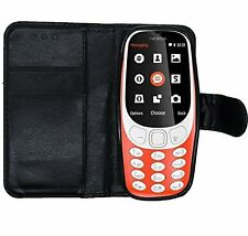 For Nokia 3310 2017 wallet case with LCD Screen Protector-For Genuine Nokia 3310