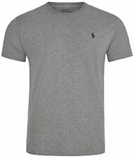RALPH LAUREN POLO MEN'S CREW NECK  SHORT SLEEVE CUSTOM FIT T-SHIRT 4 COLOURS