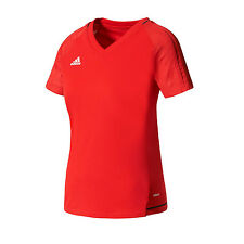 Adidas Tiro 17 Training Jersey 3 Stripe Top Ladies Adizero Climacool New