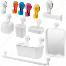 IKEA Self Adhesive Bathroom Suction Cup Hooks, Toilet Holders and Shower Baskets