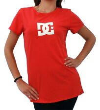 DC SHOES T STAR RED WHITE LADIES T SHIRT