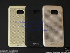 Loopeo Hard Back Shell Case Cover Net Mesh Dotted For Samsung Galaxy S7 Edge