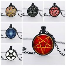PENTAGRAM PENDANT NECKLACE / Jewellery Gift Idea Witchcraft Witch Star Occult