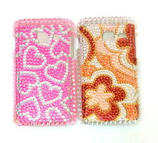 for samsung galaxy wave y s5380 s 5380 538 hard back case with diamond type stud