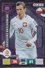 Panini Road to Russia 2018 Adrenalyn Trading Cards Key Player POL 05 Krychowiak