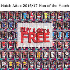 Match Attax 2016/17 Man of the Match MOTM Cards 2016/17 Fast Free Delivery