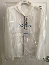 MONCLER WHITE MAXIMILIEN HOODED JACKET SIZE 4 NEW RRP £505