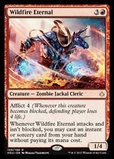 2x Eterno dell'Incendio Indomabile - Wildfire Eternal MTG MAGIC HOU Eng/Ita