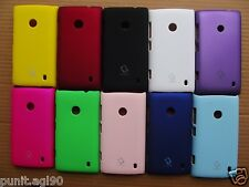 Premium Imported Hard Back Shell Cover Case Matte For Nokia Lumia 520 525