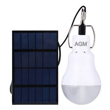 Tragbares Solar Powered Outdoor Beleuchtung Set USB Kabel Solar Panel 15W 130LM