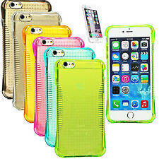 Luxury TPU Transparent Clear Gel Colors Case Cover For iPhone 5 5S 6 6