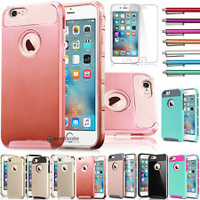 Hybrid Rugged Rubber Hard Cover Case Skin for Apple iPhone 6 / 6s Plus