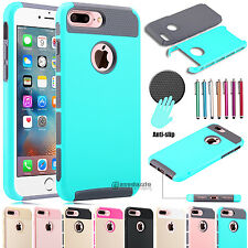 Shockproof Armor Hybrid Rugged Defender Shell Case Cover for iPhone 7