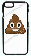 POOP EMOJI POOPY BLACK PHONE CASE COVER FOR IPHONE 7 6S 6 PLUS 5 5S 5S