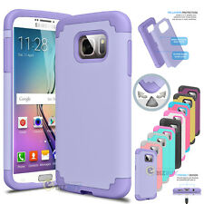 ShockProof Rugged Hybrid Rubber Hard Case Cover For Samsung Galaxy S7