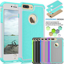 Ultra Thin Shockproof Bumper Rubber Hard Case Defender Cover for Apple