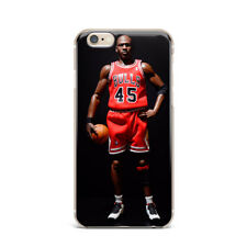 NBA Jordan Ultra Thin Rubber Gel Silicone Case For Apple iPhone 4s 5 6