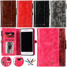 Removable Magnetic Flip Leather Wallet Card Slot Case Cover For iPhone