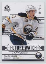 2014-15 SP Authentic #254 Tim Schaller Buffalo Sabres RC Rookie Hockey Card