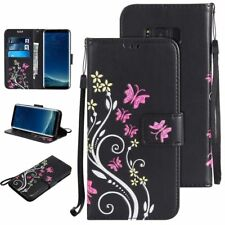 Leather Wallet Magnetic Card Slot Flip Stand Cover Case For Samsung Ga