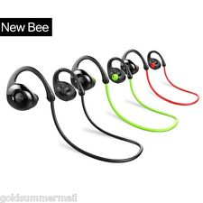NEW BEE NB-7 sweat-resistance deporte Audífonos Bluetooth v4.1 RUIDO Cancelar