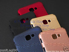 Net Mesh Hard Back Shell Case Cover For Samsung Galaxy J7 Prime / On NXT
