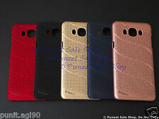 Net Mesh Hard Back Shell Case Cover For Samsung Galaxy J7 2016 / On8