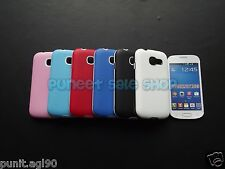 Hybrid Dual Tone Platina Soft Back Cover Case For Samsung Galaxy Star Pro S7262