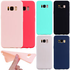For Samsung J7 S8 Plus Ultra Slim Soft TPU Silicone Rubber Shockproof