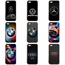 MERCEDES BENZ BMW AUDI MPOWER RS AMG CAR LOGO PHONE CASE COVER iPhone SAMSUNG