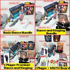 Big Nintendo Wii Console all Singing Dancing xmas/birthday gift bundle for Girls
