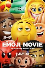 THE EMOJI MOVIE POSTER A4 A3 A2 A1 CINEMA MOVIE LARGE FORMAT