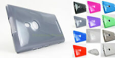 for Nokia Lumia 925 Tmobile Soft Frosted Lightweight TPU Skin Case Cov