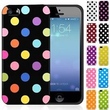 New Polka Dot TPU Gel Case For Apple iPhone 5c (All Version) - Free Sh