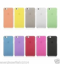 Apple Iphone 6 6s COVER ULTRA SOTTILE 0.3MM CUSTODIA BUMPER SLIM CASE THIN 4,7""