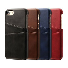 iPhone 7 7 Plus Case for Apple Genuine Leather Back Slim Card Slot Wal