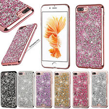 For Apple iPhone 7 & 7 PLUS Diamond Desire Back BLING Hard Case +Scree