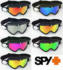 SPY OPTICS TARGA 3 NERO SABBATH Motocross MX OCCHIALI cromata lente a specchio