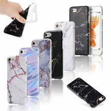 Ultra Slim Marble Pattern Rubber Soft TPU Back Case Cover for iPhone 6