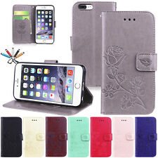 Luxury Flip Leather Card Wallet Stand Magnetic Case Cover For iPhone 6