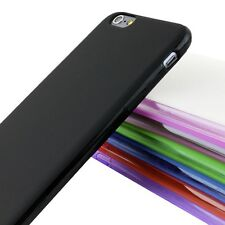 Premium Ultra Thin Slim TPU Gel Skin Case Matte Cover For Apple Phone