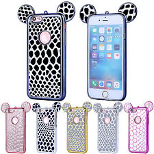 Cute Rubber Case Soft TPU Silicone Protective Slim Cover For iPhone 6s