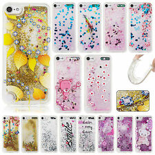 For iPod Touch 6th/5th Gen Soft Rubber Skin Quicksand Painted TPU Gel