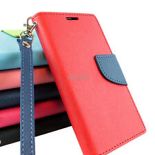 For HTC Desire 610 Hybrid PU Leather Flip Folio Wallet Pouch Case Cove