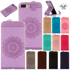 Card Holder Stand Flip Wallet Leather Magnetic Case Cover For iPhone 5