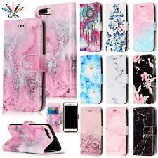 Luxury Card Wallet Flip Stand PU Leather Magnetic Case Cover For iPhon