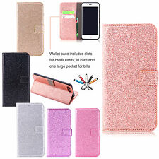 New Leather Case Card Slots Wallet Flip Stand Magnetic Cover For iPhon