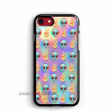 Psychedelic iPhone Cases Alien Samsung Galaxy Cases Emoji Pattern iPod