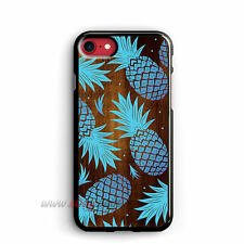 pineapple Mint iPhone Cases wood Texture Samsung Galaxy Phone Case iPo