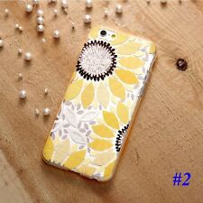 Flower Emboss Pattern Soft Cute Case Cover for iPhone6 6S Plus 5 5s SE